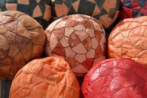 Poufs marocains. Photo: iStockphoto