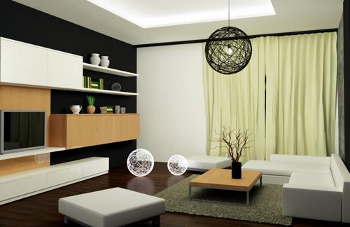 Portes ou rideaux blogue de via capitale - Moderne wohnzimmergestaltung ...