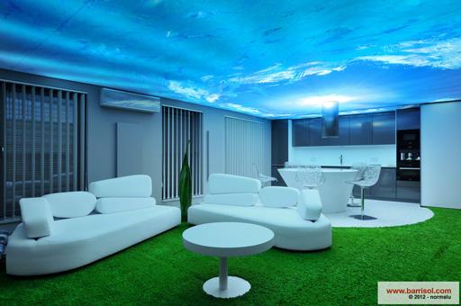plafond suspendu ou tendu blogue de via capitale. Black Bedroom Furniture Sets. Home Design Ideas