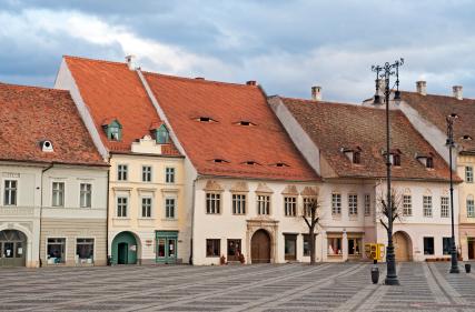 Yeux Toit Sibiu Roumanie ISTOCKPHOTO inusite