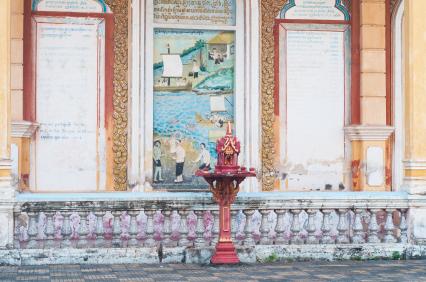 Maison Esprits Thailande ISTOCKPHOTO inusite