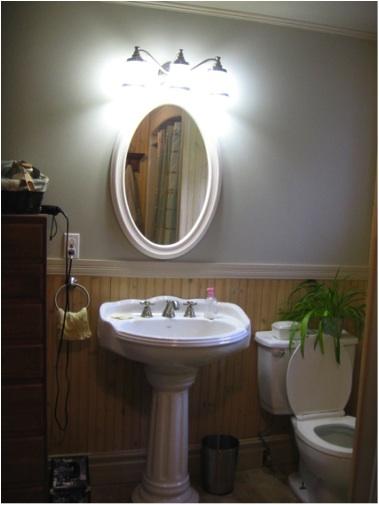 Little bathroom will become big via capitale blog - Renovation salle de bain ...