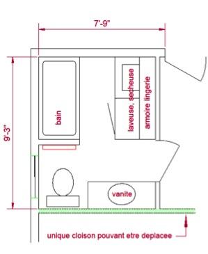 Salle de bain Plan Casarazzi renovation