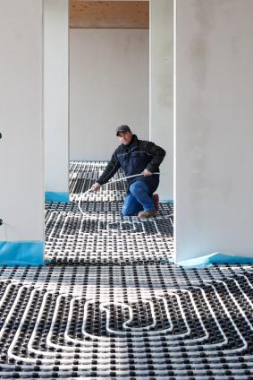 Plancher Chauffant Installation ISTOCKPHOTO renovation
