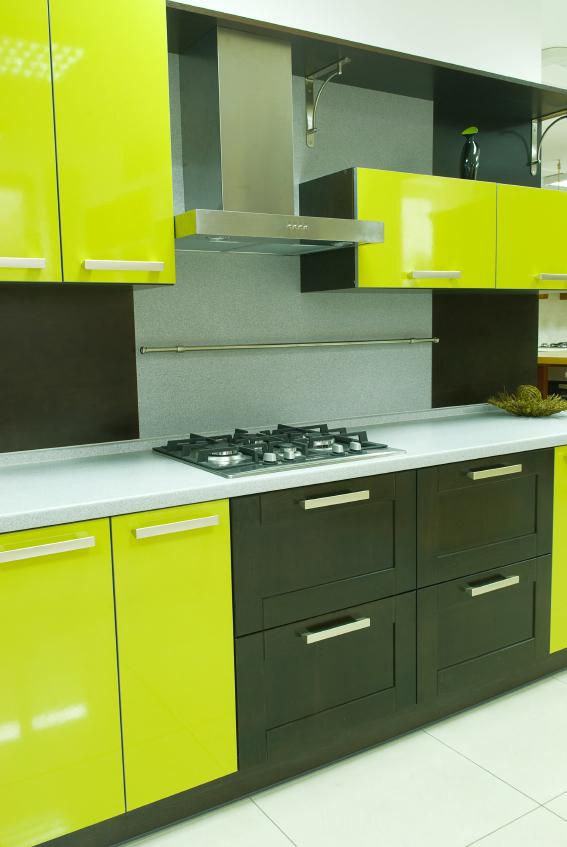 Des id es pour vos armoires de m lamine blogue de via capitale - Peinture d armoire de cuisine ...