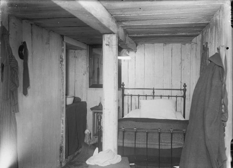 « German Bunker 1916 » Photo Ernest Brooks sur Wikipedia.