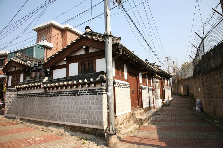 Maisons Corée du Sud. iStockphoto