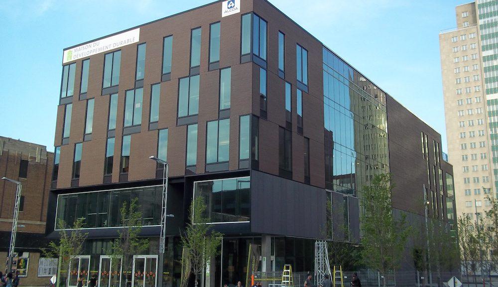 Maison du développement durable, photo de Jean Gagnon, Wikipedia