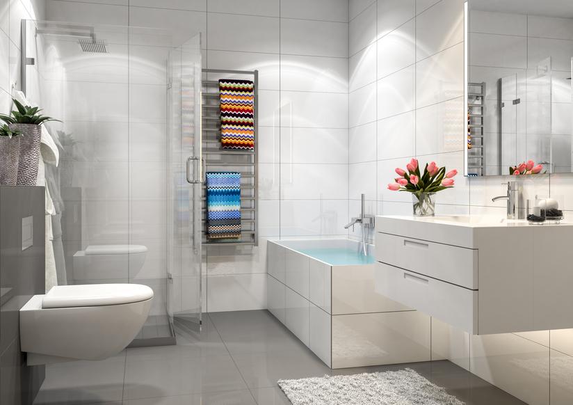 salle bain ceramique blanc ISTOCK deco - Blogue de Via Capitale