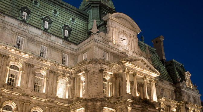iStock. Hôtel de ville de Montréal