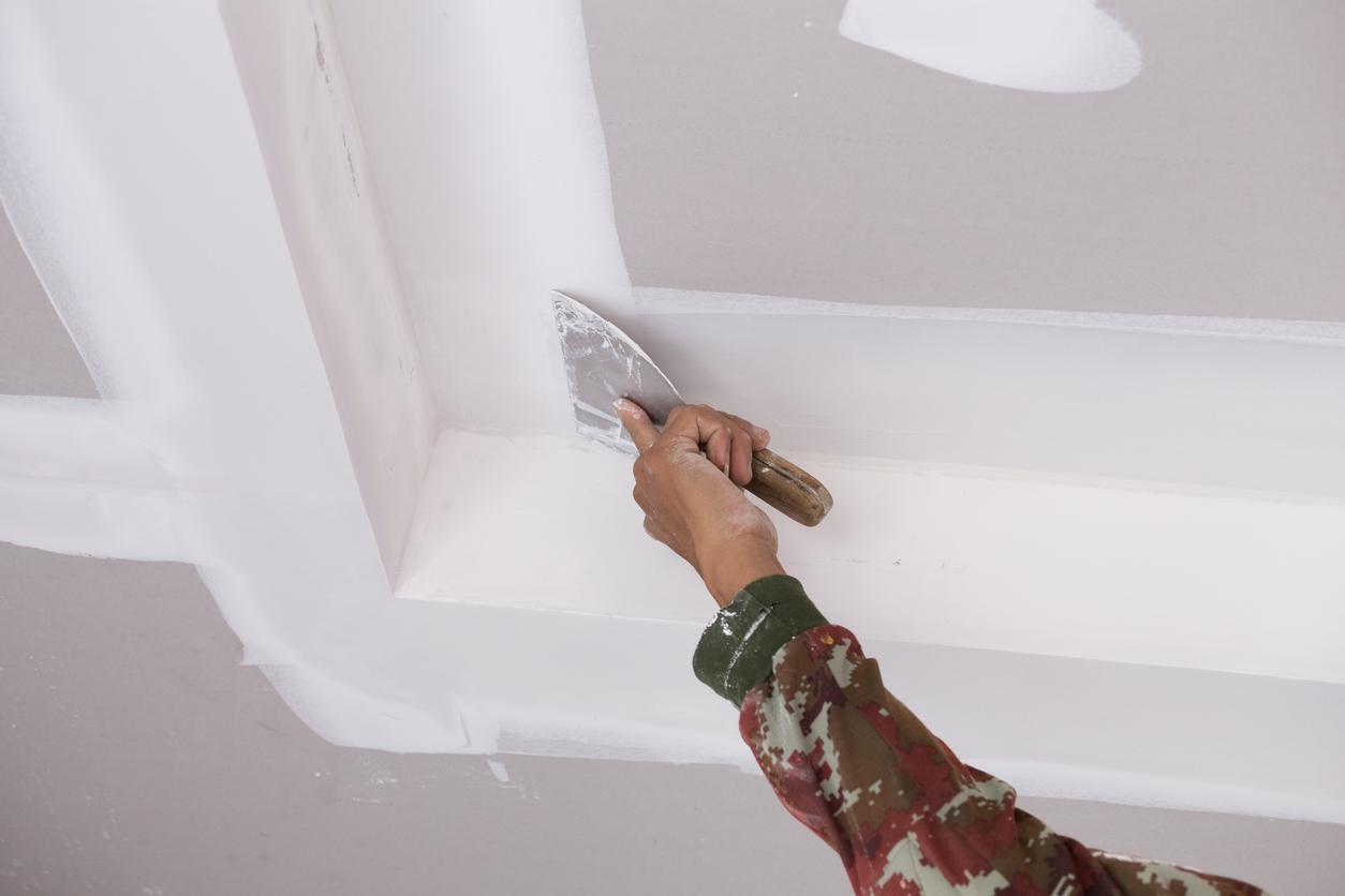 R novations au plafond blogue de via capitale - Refaire un plafond qui s ecaille ...