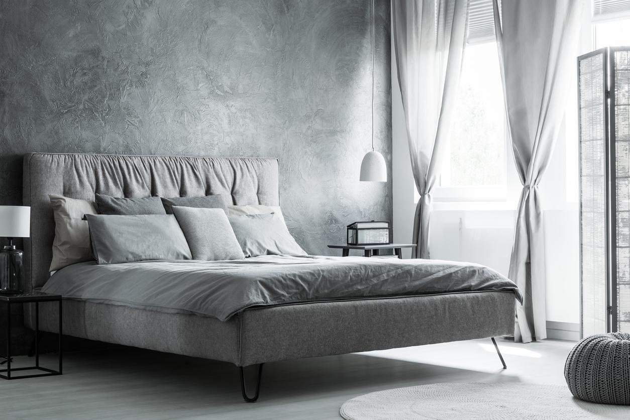 Decoration Chambre Coucher chambre coucher gris texture istock deco - blogue de via