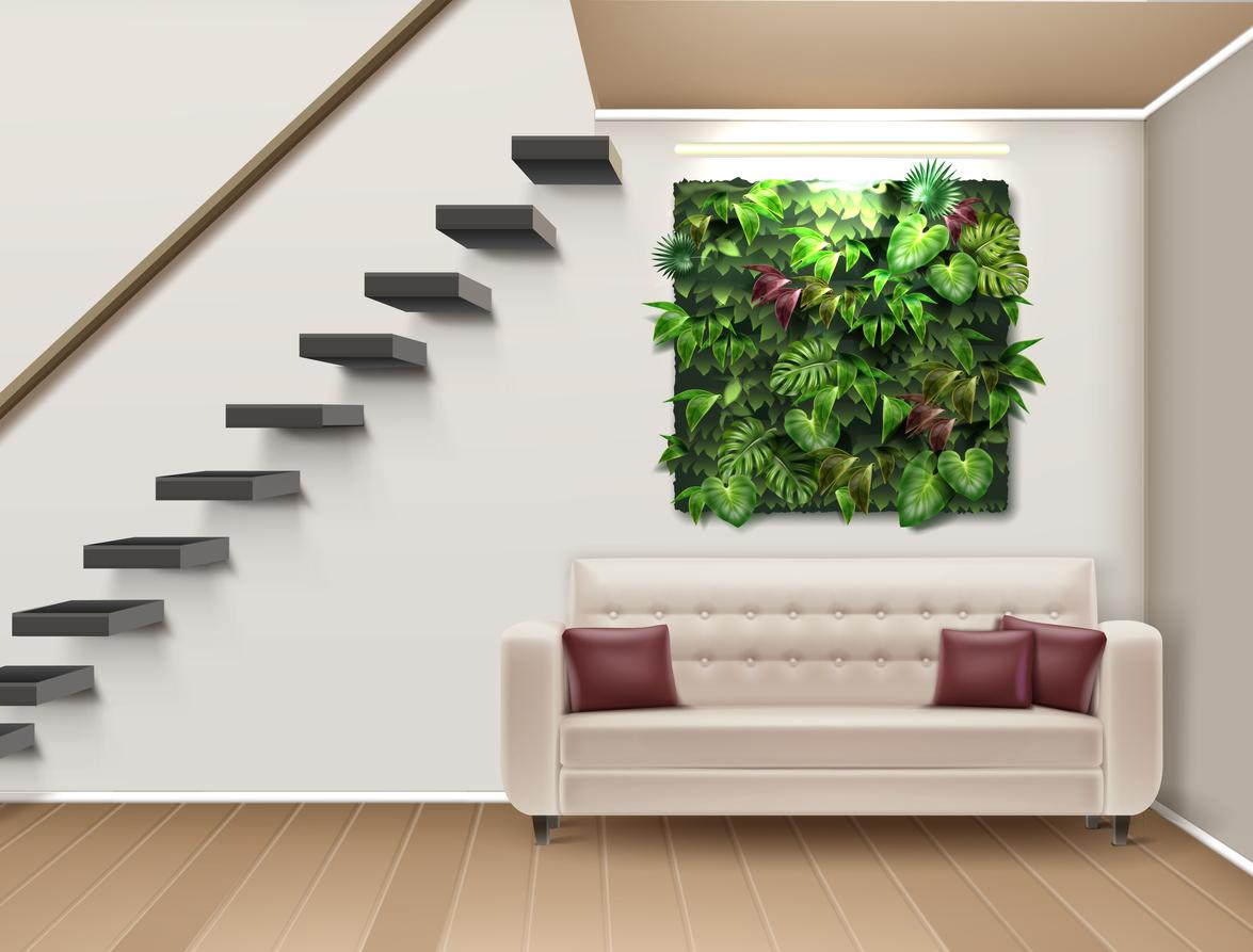 mur végétal - environnement - Via Capitale
