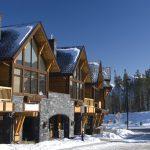 Chalet montagne neige