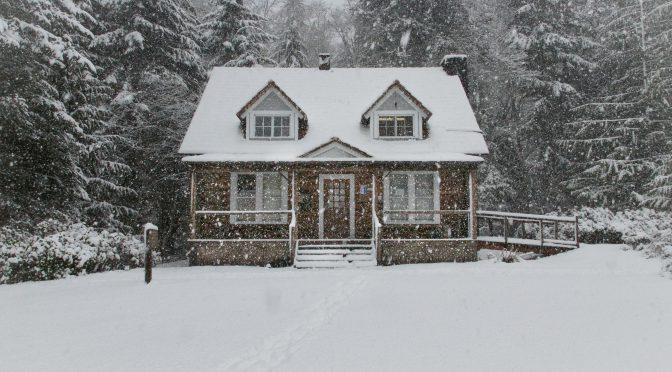 Maison Hiver Neige