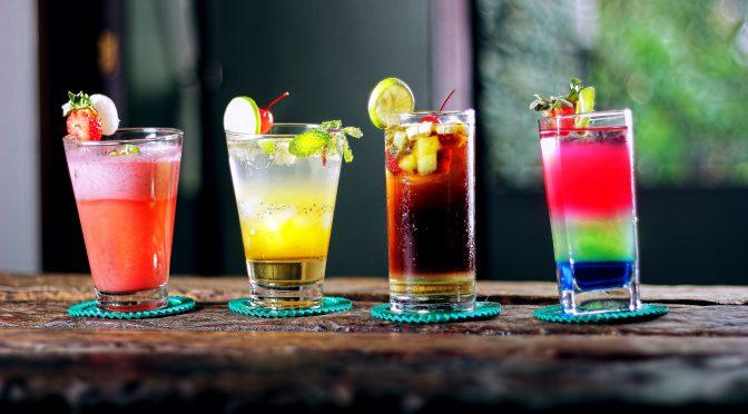 minibar cocktail beverages bar