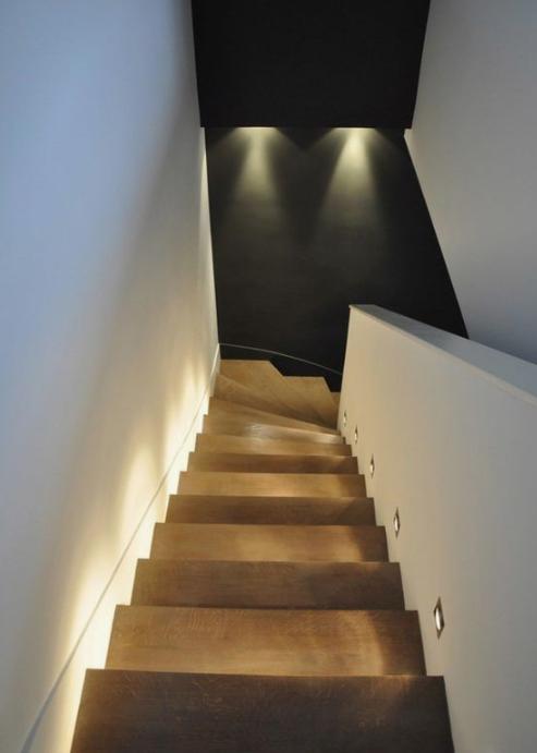escaliers lumières