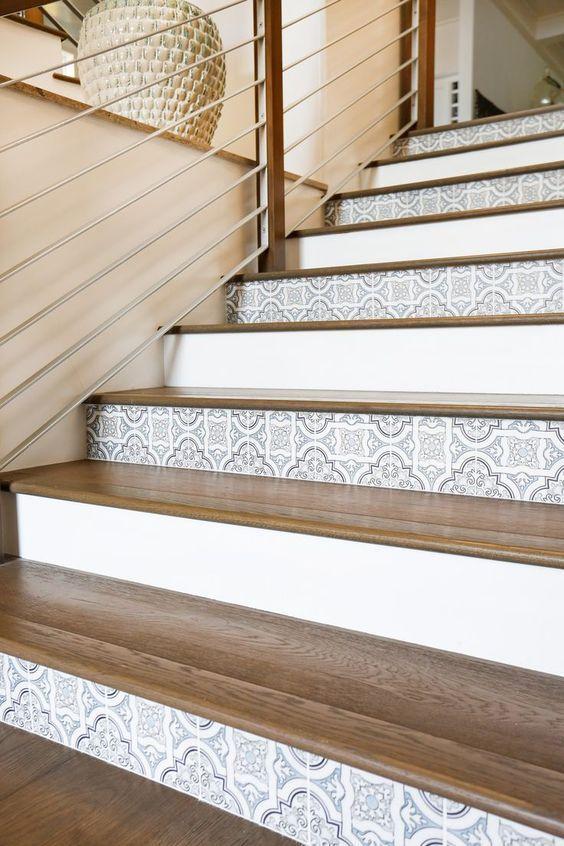 Contremarches escalier
