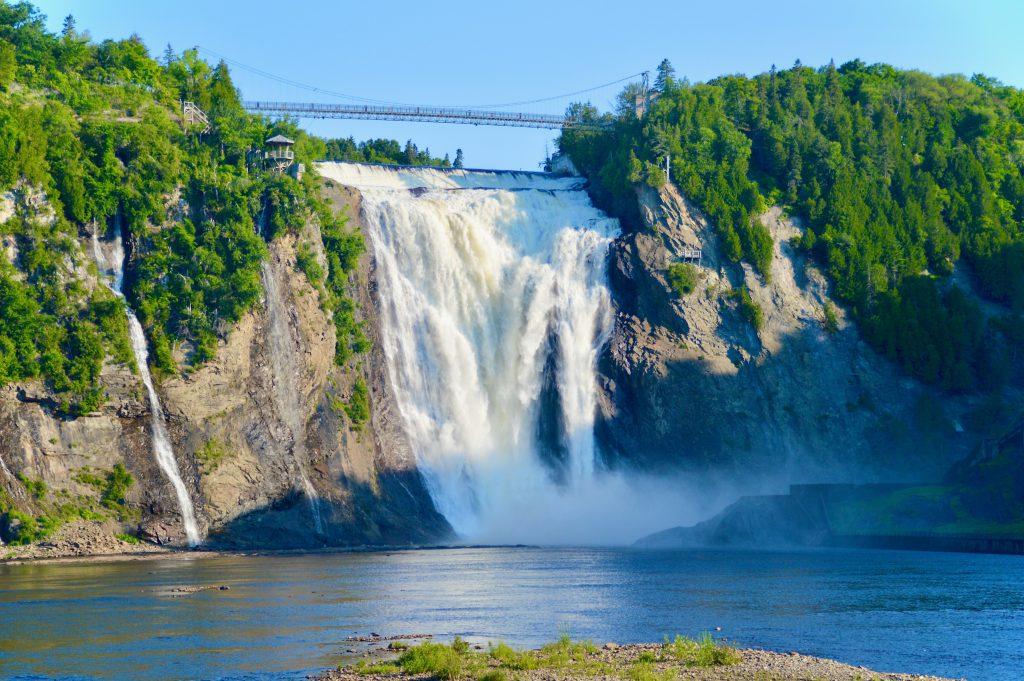 Montmorency Falls, Quebec City, QC, Canada