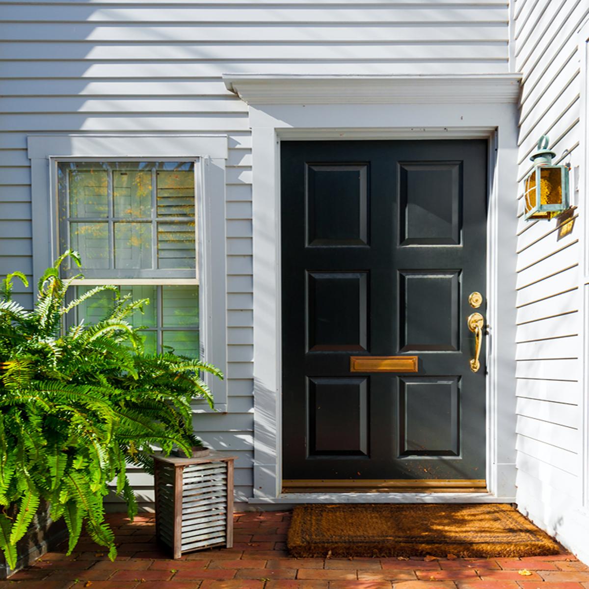 Repeindre sa maison - couleur de porte - Via Capitale