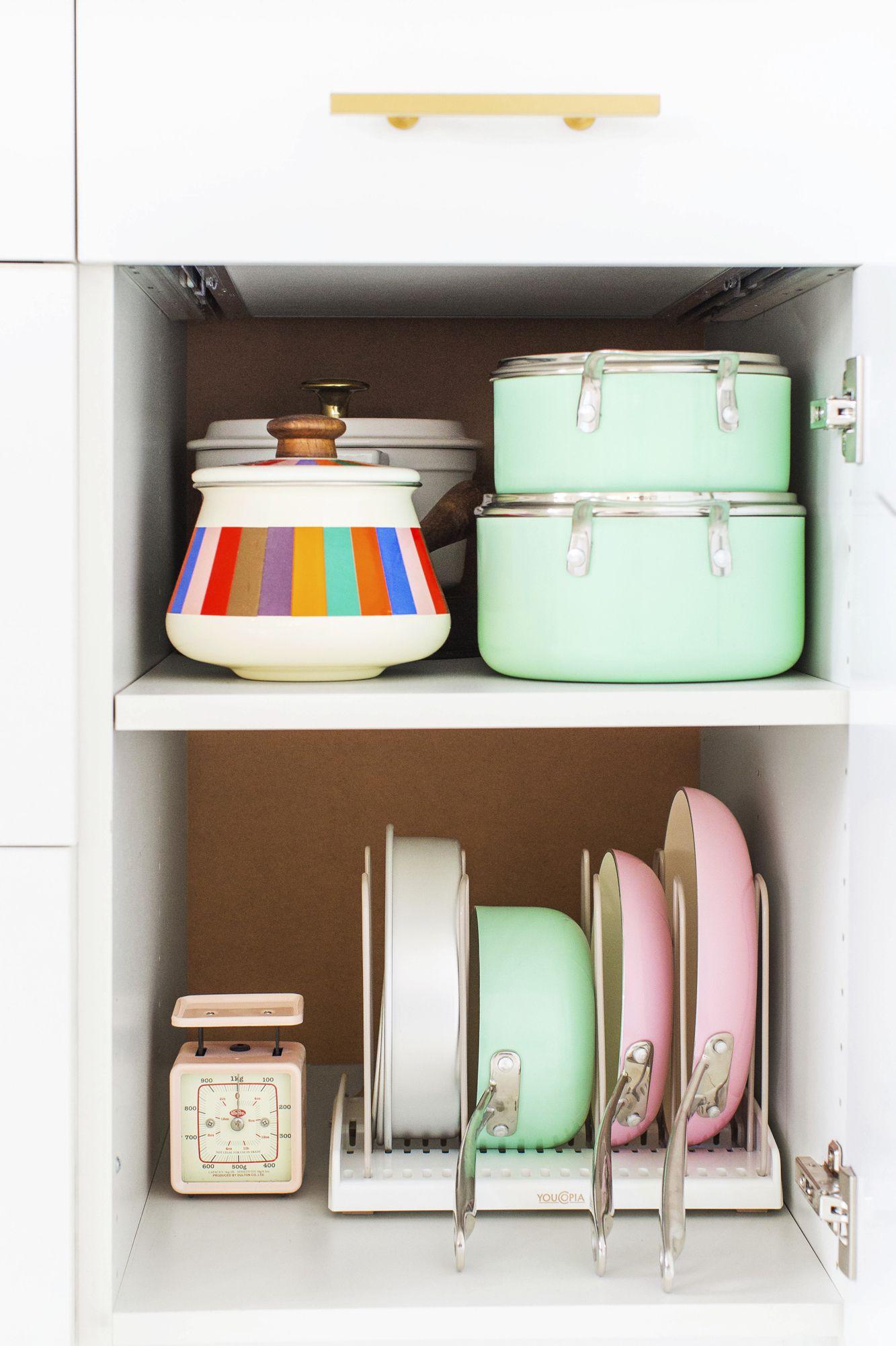 Maximiser l'espace de rangement - poeles et casseroles - Via Capitale