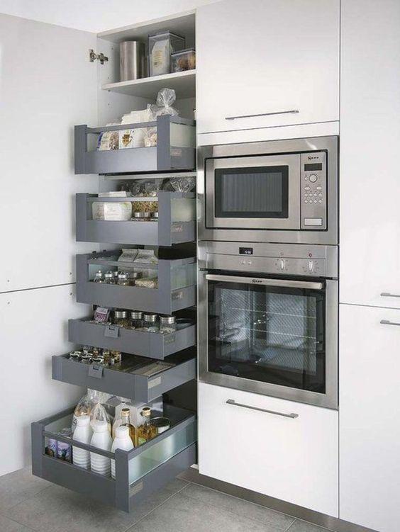 Maximiser l'espace de rangement - tiroirs - Via Capitale