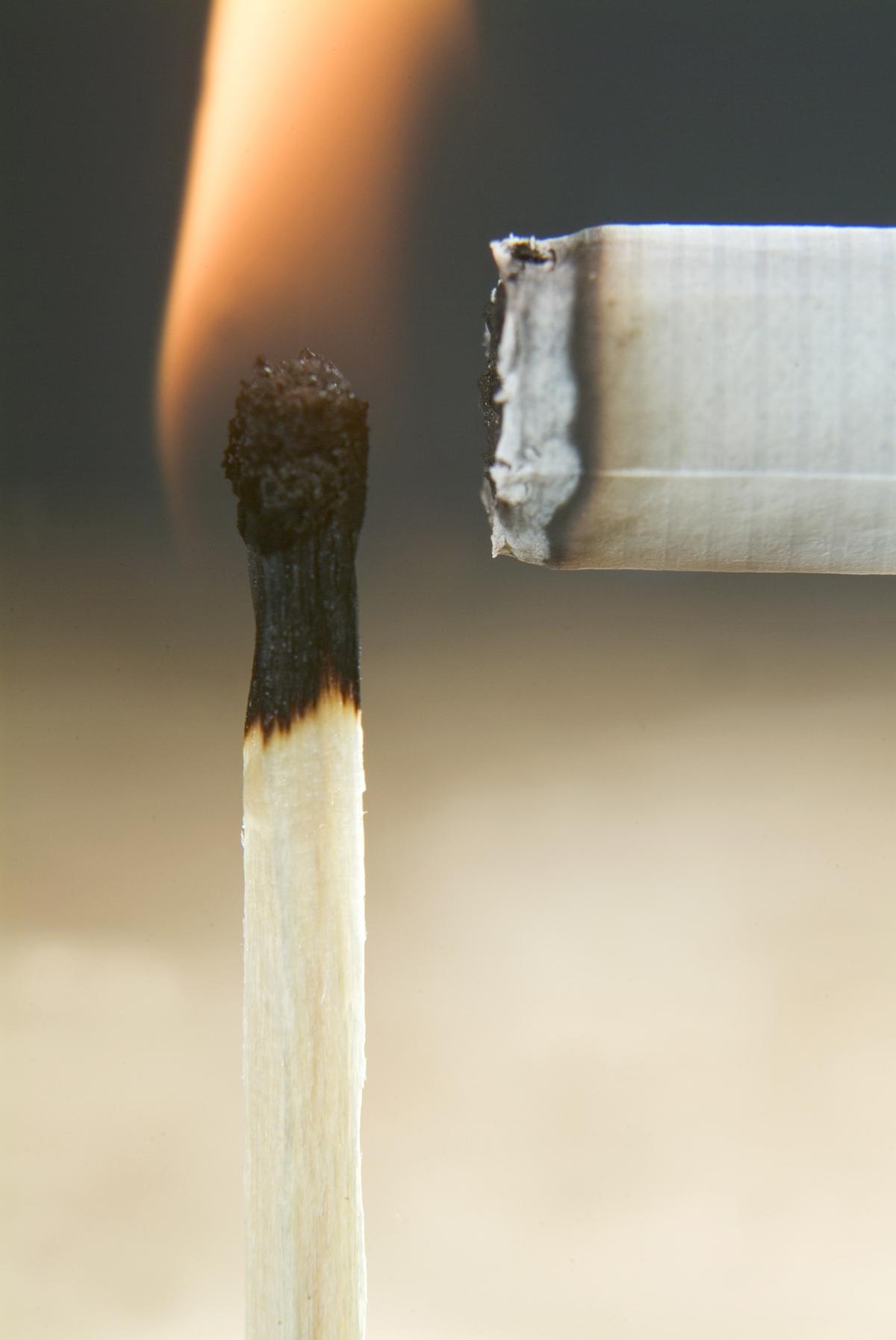 prévenir les incendies - cigarettes et allumettes - Via Capitale