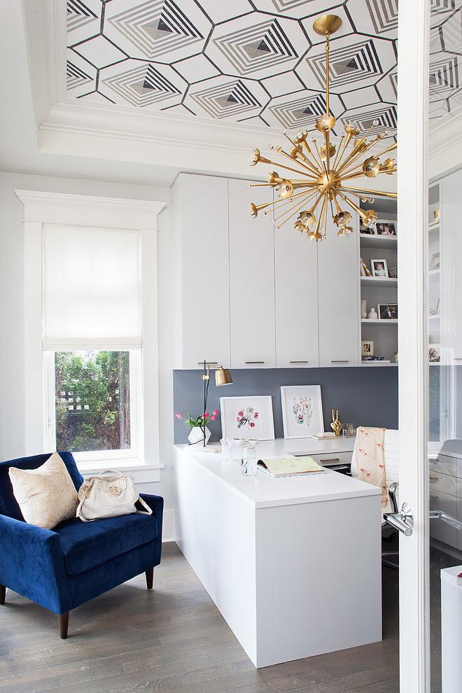 plafonds décorés - tendance déco 2019 - Via Capitale