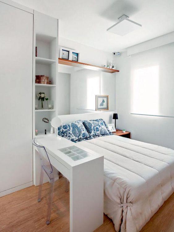meubles intégrés - gain d'espace - petite pièce - Via Capitale